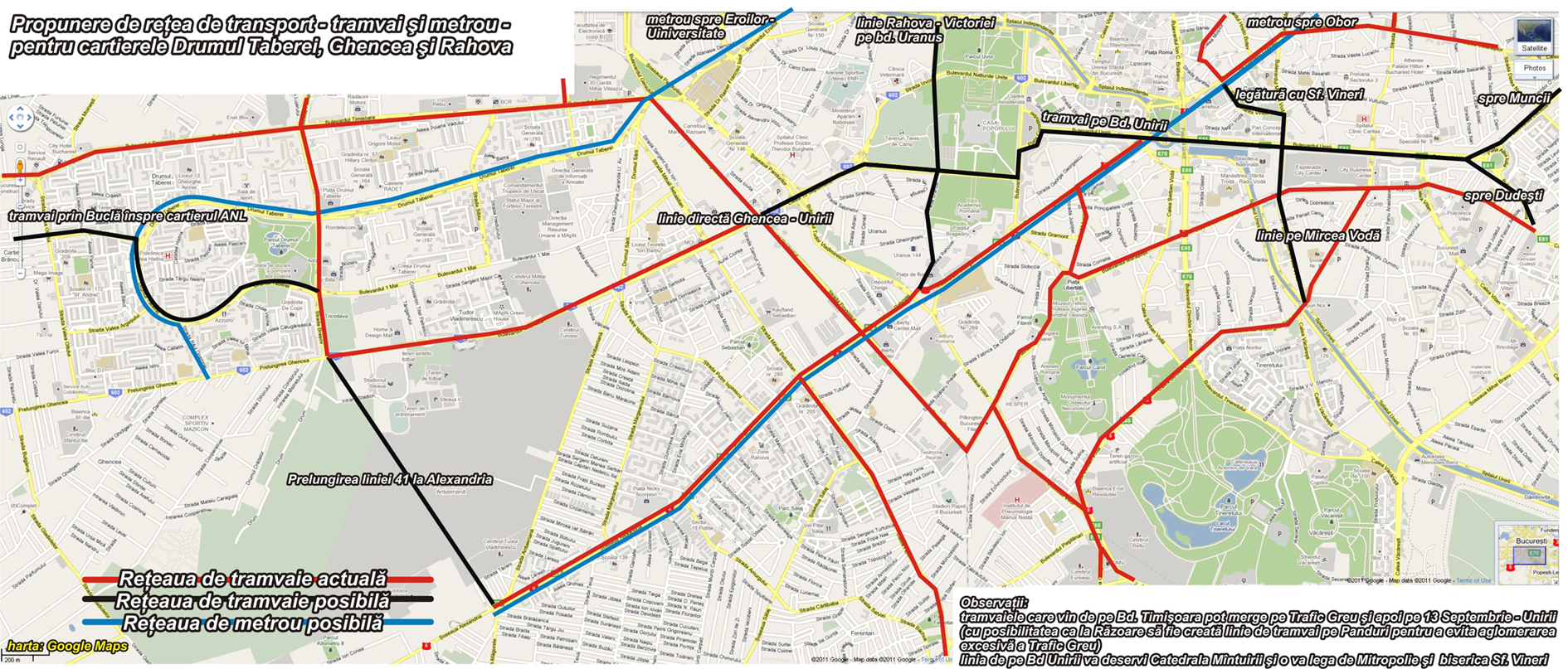 Metrou suspendat in Drumul Taberei | Bucurestii Vechi si Noi  |Metrou Drumul Taberei